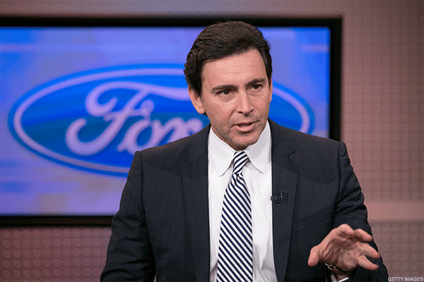 """Unarguably the biggest outcome of the recent slowdown in car sales was Ford overthrowing its CEO, Mark Fields, on Monday. Ford replaced Fields withformer Steelcase CEOJim Hackett, who boldly stated at a conferenceexplaining the decision, """"We don't have to cede our future to anyone, not to Tesla , not others.""""Hackett had been overseeing Ford's Smart Mobility unit, which was experimenting with self-driving cars and car-sharing programs, prior to his appointment."""