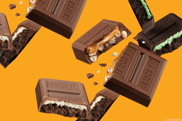 You may think of them as a plain chocolate company, but Hershey has been a pretty sweet deal for investors in the last half decade or so. The Hershey, Pa.-maker of its namesake chocolate, Kisses, Reese's, Krackel, Symphony and Mr. Goodbar has watched earnings grow over the last five years as share prices rose from $70 to nearly $106. That price has jumped from this year alone as it's paid dividends of $2.62 a share and yielded about 2.44%.The 2008 financial crisis and 2009 market collapse had just about no effect on the share price, but that doesn't mean Hershey doesn't has problems ahead. It's been racking up debt and has a long term debt/equity ratio is nearly 350%, and its free cash flow is currently $49.9 million -- though it's been far worse. Neither issue has been a problem so far, but fattening up on this stock too much now could lead to some discomfort later.