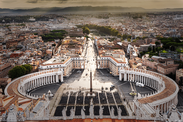 Size in Square Kilometers: 0.44We'll start with the world's smallest independent recognized* nation. Vatican City, otherwise known as the Holy See, blends seamlessly into Rome, so much so that it's easy to miss that invisible line where you cross from Italy's capital to the heart of Christendom. By the time you're standing in St. Peter's Square, though, there's no missing it.Vatican City may well be the most artistically blessed nation on the planet, with virtually every square inch a masterpiece. Don't let that fool you though, this is a fully functioning state with the Pope at its head.Despite its religious purpose, the Vatican prints its own euros and issues its own stamps, passports and license plates. With the Swiss Guard as its armed agents, the Vatican can even offer political sanctuary if it chooses. Despite all that, the official population remains no more than approximately 1,000 total (many, if not most, of whom live abroad).* While the world is filled with micronations, for our purposes we'll stick to official political entities as judged by the CIA Factbook.