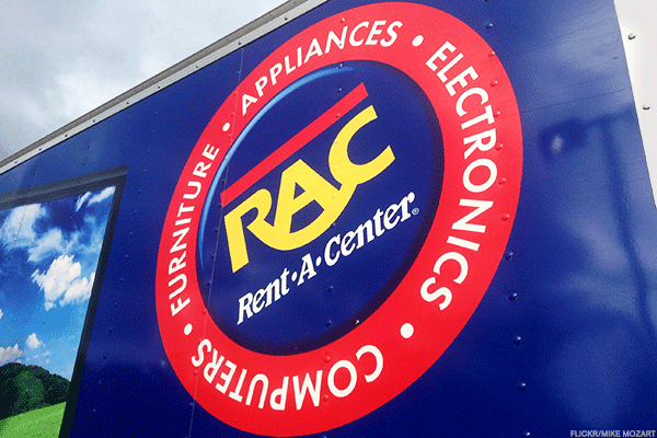 """A sale appears to be the most likely outcome for Rent-a-Center , which recently became the target of a director-election proxy contest launched by Welling. Engaged Capital is seeking to install three directors onto the company's seven-member board. The company put in a poison pill to discourage Welling; however, Engaged already owns 20.5% of the enterprise.One of the company's incumbent directors up for election is recently installed Rent-A-Center's chairman and interim CEO, Mark Speese. A victory by Engaged to replace Speese from the board would send a message from shareholders that the company should launch a serious strategic review process.There are at least two potential U.S. based strategic buyers of Rent-A-Center; rival rent-to-own operator, Aarons Inc. and private equity firm Vintage Capital Management LLC, a majority owner of a smaller rent-to-own competitor, Buddy's Home Furnishings, according to people familiar with the situation. Vintage had sought to acquire Aaron's in 2014, but that effort was squashed after Aaron's acquired Progressive Finance Holdings, a virtual rent-to-own business.Consider that Aaron's CEO, John Robinson, told shareholders in a March letter to shareholders that he expects to grow partly through strategic acquisitions, which is why the company has """"ample financial flexibility to execute"""" its strategic priorities. Also, one of Engaged's director candidates, William Butler, was the former COO of Aaron's. All of this suggests that the rent-to-own company is interested in Rent-A-Center. An Aaron's spokesman declined to comment, and Vintage Capital did not return calls. Rent-A-Center reported recently that it had retained JPMorgan Chase & Co. as an adviser, though it's unclear whether the bank is providing activist defense or M&A advice. Its board noted recently that it would """"continue to evaluate"""" opportunities to improve shareholder value.Even so, the Rent-A-Center business has been struggling of late, with the stock dropping from a re"""