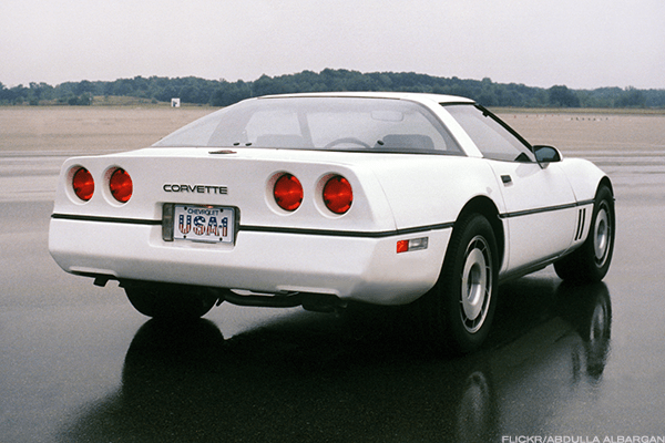 "Current value: $8,000 to $10,000The infamous C4 generation of the Corvette was the first redesign since 1963 and resulted in 51,547 being sold in 1984 alone. The Corvette hasn't sold anywhere near that briskly since, and the underpowered C4 didn't help its case. Even with a 5.7-liter V8, base models only managed 205 horsepower in their first year and less than 250 hp until the 300-horsepower LT1 engines debuted in 1992. Meanwhile, features like glass hatchbacks, LCD displays, flip-up headlights and molded plastic didn't age well. Enthusiasts still love the more musclebound ZR-1 models and the B2K Callaway Twin Turbo (which doubled the price of a Corvette), but maximum horsepower never rose above 405 as General Motors struggled with fuel efficiency standards and innovation. Could Steve Sanders back up his ""I8A 4RE"" license plate?"" Only if his Vette was a more rare model going against a base Testarossa or 328. This is how cars that were selling for a minimum of $21,800 at the beginning of their run in 1984 and $37,225 by the end 1996 lost more than half of their value."