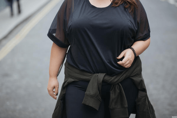 Nike's new line is designed to fit women who are sizes 1X to 3X.Nike may have competition from Torrid, which sells an active line featuring colorful patterns. The Ascena Retail Group , which owns the standard bearer for plus-size women clothing, Lane Bryant, owns Torrid, too.