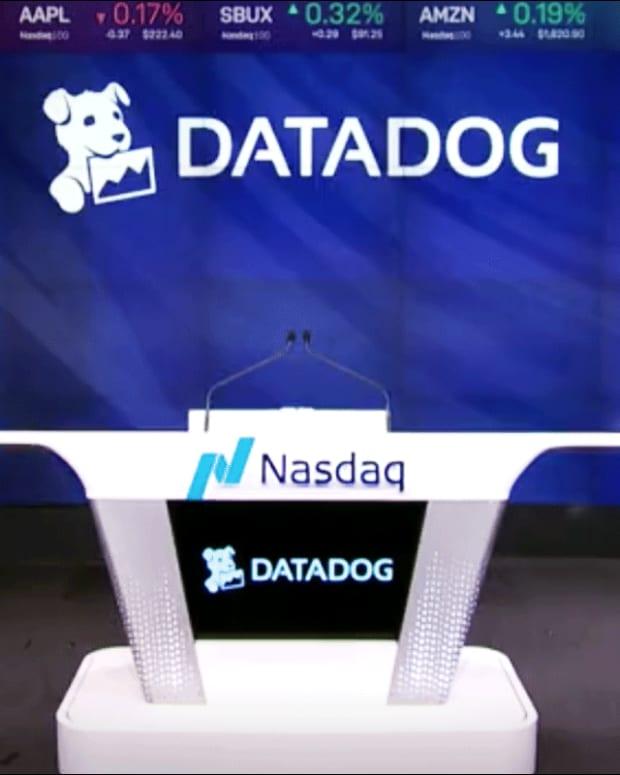 Datadog, Cloud-Monitoring-Software Firm, Debuts Above IPO Target Range