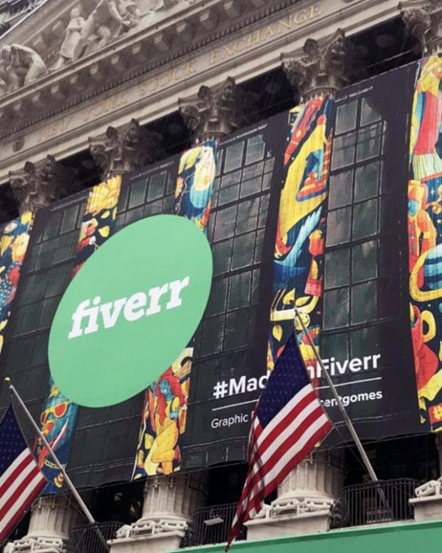 Fiverr Shares Jump in New York Stock Exchange Debut