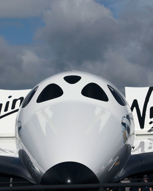 Virgin Galactic to Launch First Listed Space-Tourism Business