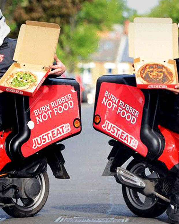 Just Eat Soars on Takeaway.Com Bid; Deal Would Create Big Uber Eats Rival
