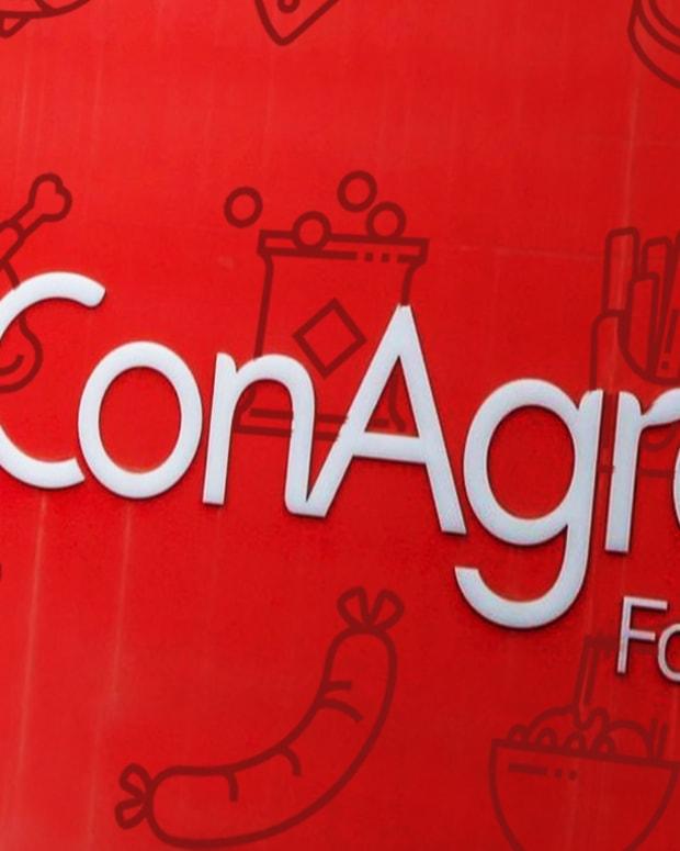 Down Goes Conagra Stock, Here's My Trade Idea