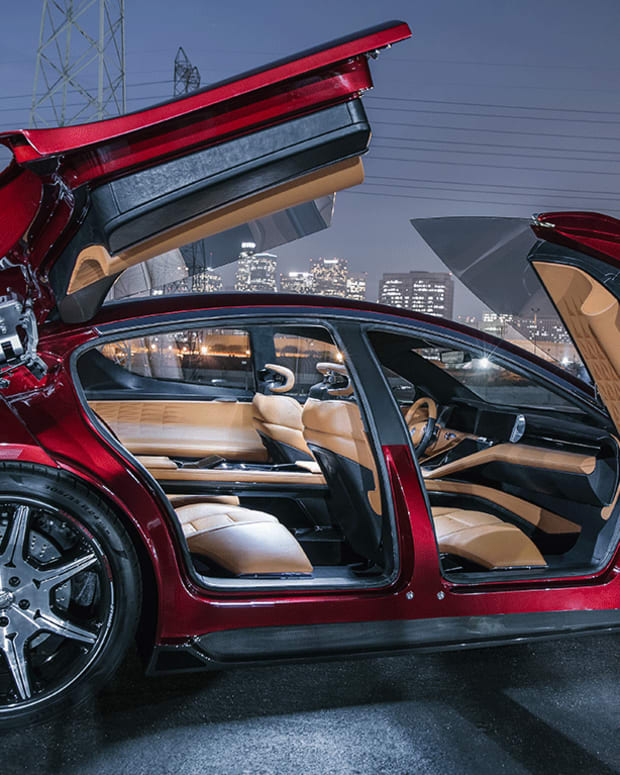 Fisker Debuts $129,000 Tesla Killer at CES 2018