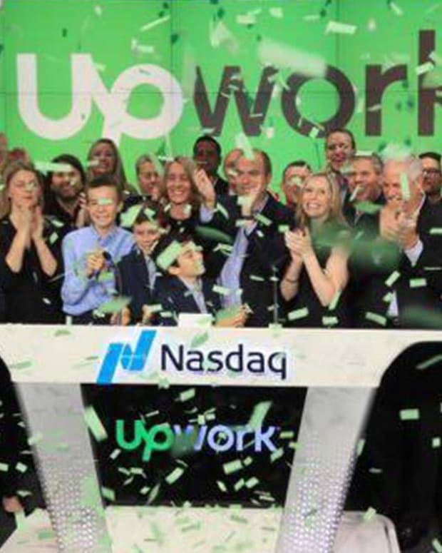 Upwork Spikes 40% in Its Trading Debut