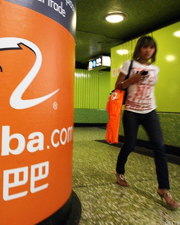 Jim Cramer Breaks Down Earnings From Alibaba, Chevron and Exxon in 60 Seconds