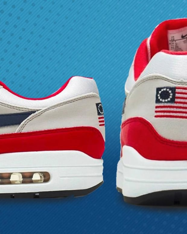 Jim Cramer Explains Why Nike Pulled Its Betsy Ross Sneaker