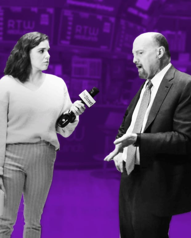 It's Market Madness: Jim Cramer on Earnings Season, Pfizer and Mylan, Starbucks