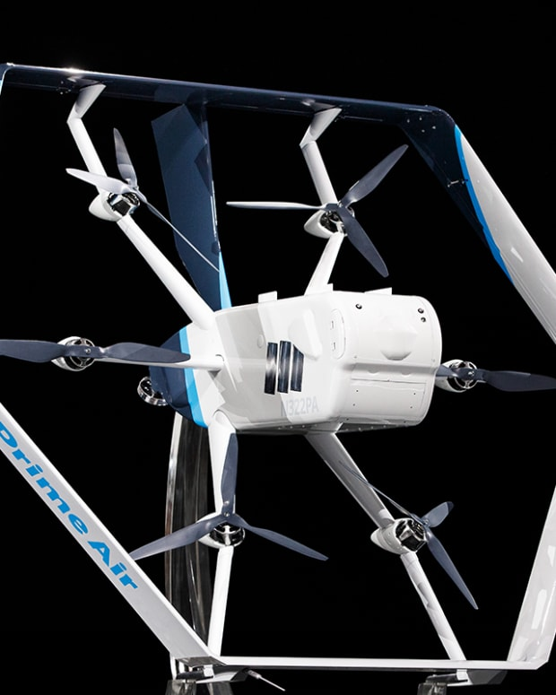 Amazon Debuts Prime Air Delivery Drone