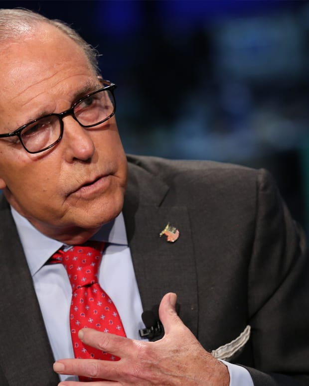 Why Kudlow's 'Good Vibes' Comment Isn't Necessarily a Good Sign