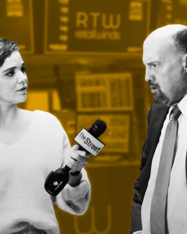 Jim Cramer's Breaking Down EA, Lyft, Anadarko and Markets