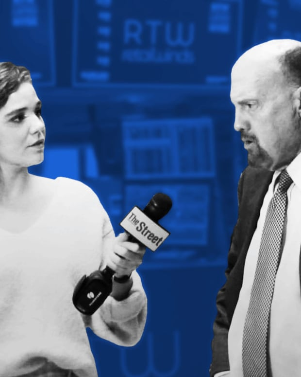 Jim Cramer Breaks Down Canopy Growth and Martha Stewart, GDP Numbers and JCP