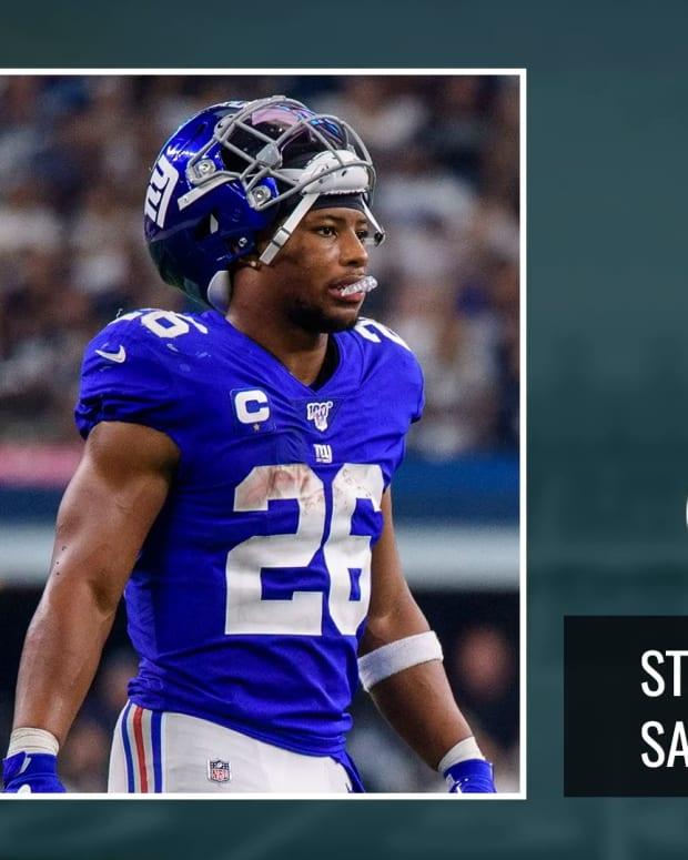Stocks Versus Stats: Nike Versus New York Giants Runningback Saquon Barkley