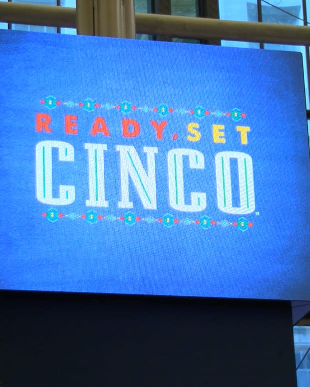 Constellation Brands CEO Bill Newlands Celebrates Cinco de Mayo With TheStreet