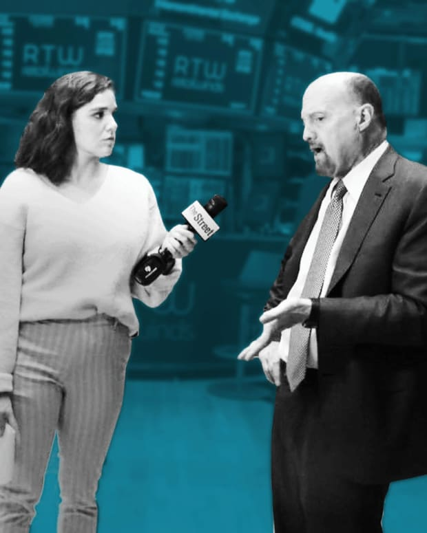 Jim Cramer on Facebook and Tesla's Earnings and His Newest Acronyms