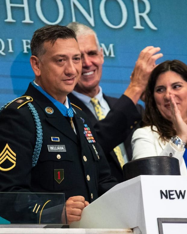 What Surprised Medal of Honor Recipient David Bellavia About the NYSE Floor