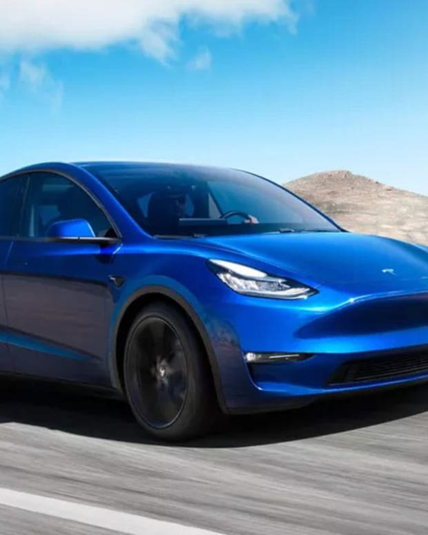 Take Your First Look at Tesla's Model Y