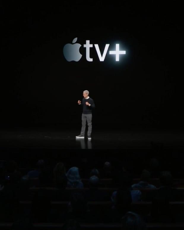 Tim Cook Unveils Apple's TV Plus
