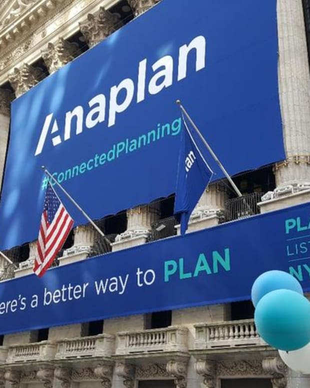 Anaplan CEO on the Cloud Company's IPO