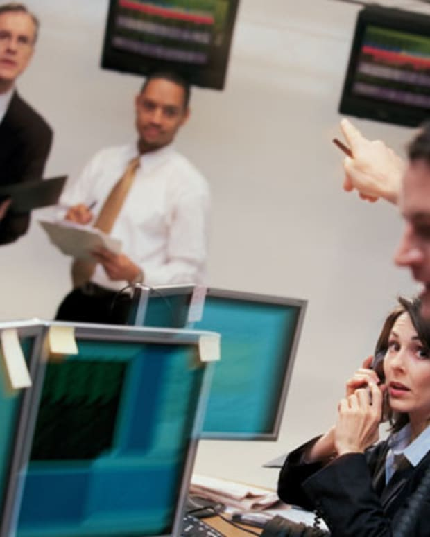 Touch Technology Provider's Shares on the Rise