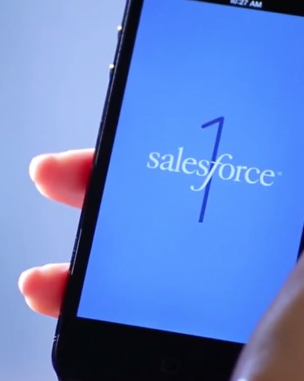 Chart of the Day: Salesforce