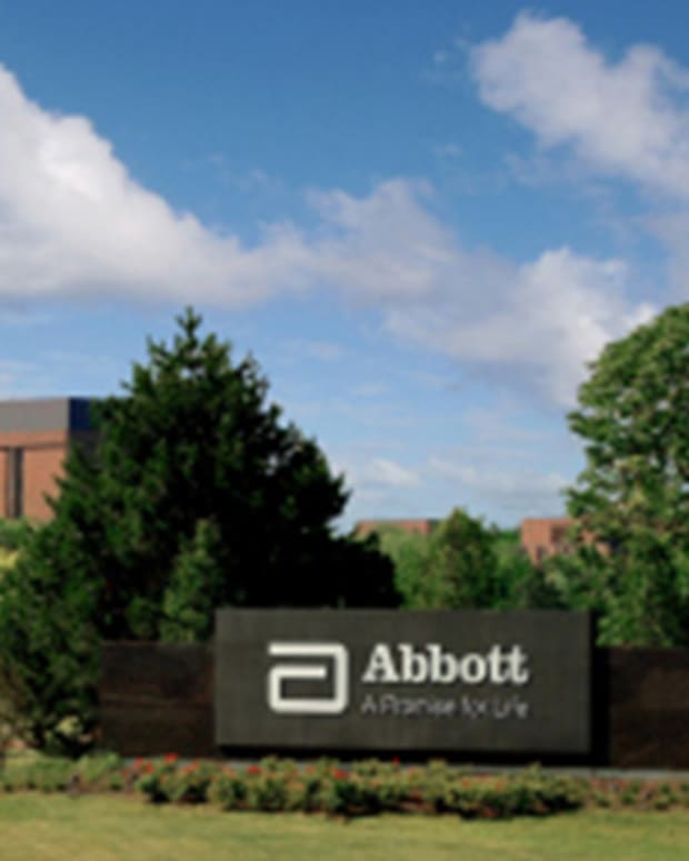 Abbott Labs' Adjusted Earnings Beat Despite 31% Net Income Drop