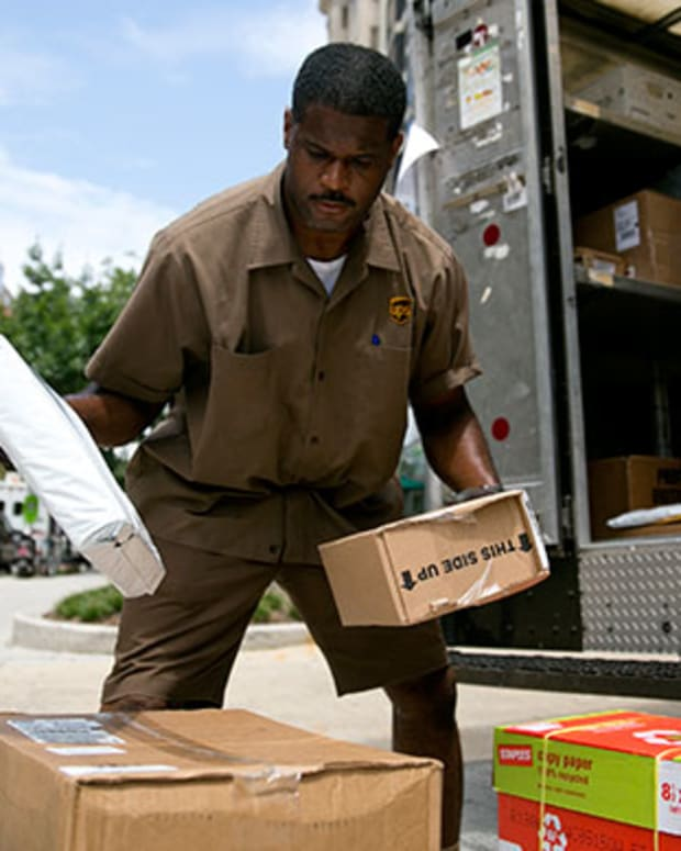 Buy United Parcel Service for the Dividend