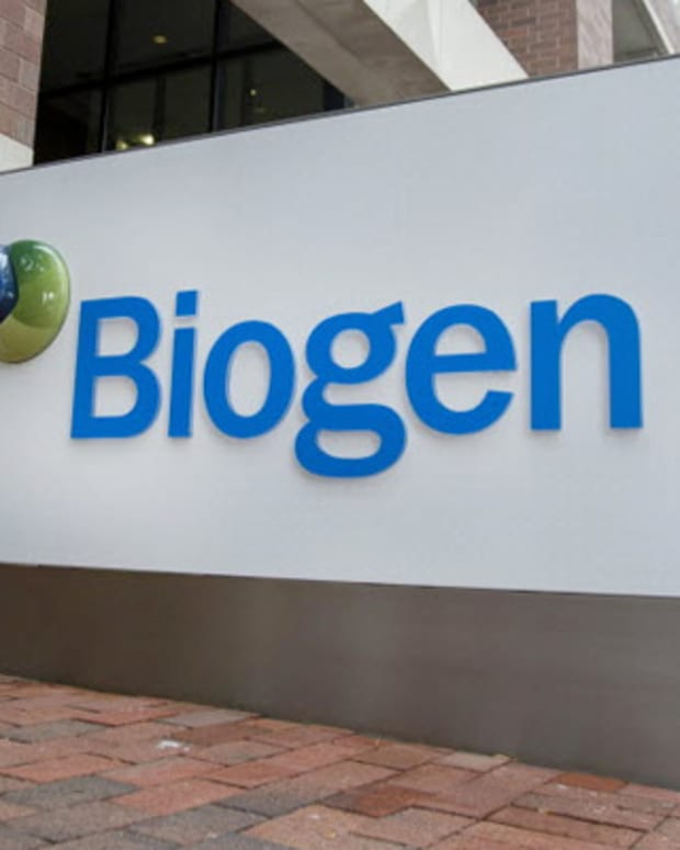 Endo Pops After Parkinson's Tests, IDexx Continues Fall, Biogen Higher: Tuesday's Biotech Movers
