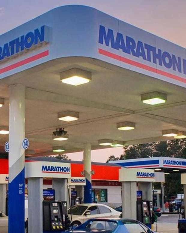 Here's Why Shares of Marathon Oil Ended Friday's Session Lower