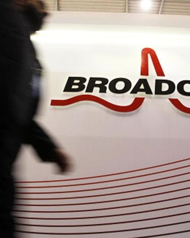 Here's Why Shares of Broadcom Were Higher Wednesday
