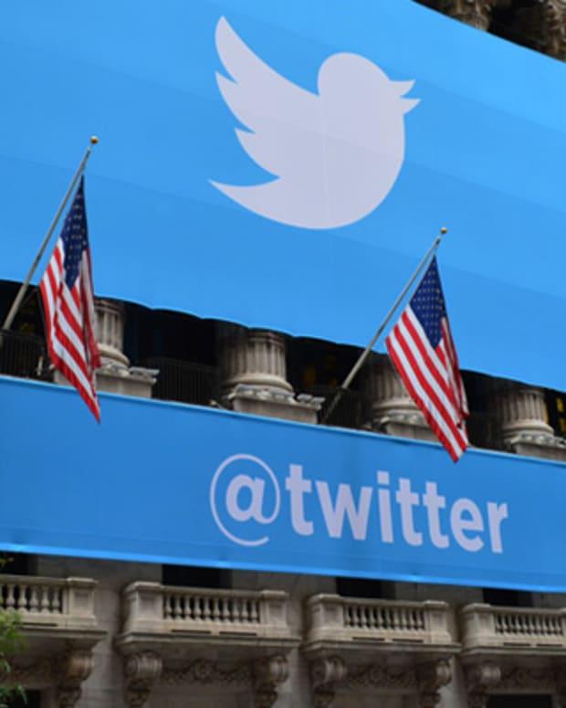 Twitter Rises