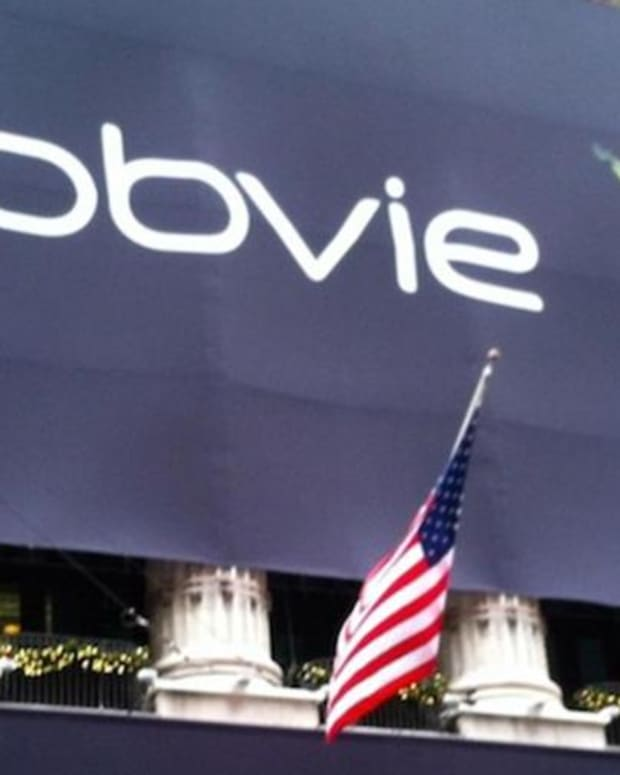 Closing Bell: AbbVie Sues Amgen; S&P 500, Nasdaq at New Records