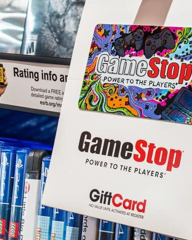 Here's Why Shares of GameStop Are Losing Ground Friday