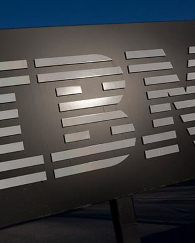 IBM moves higher