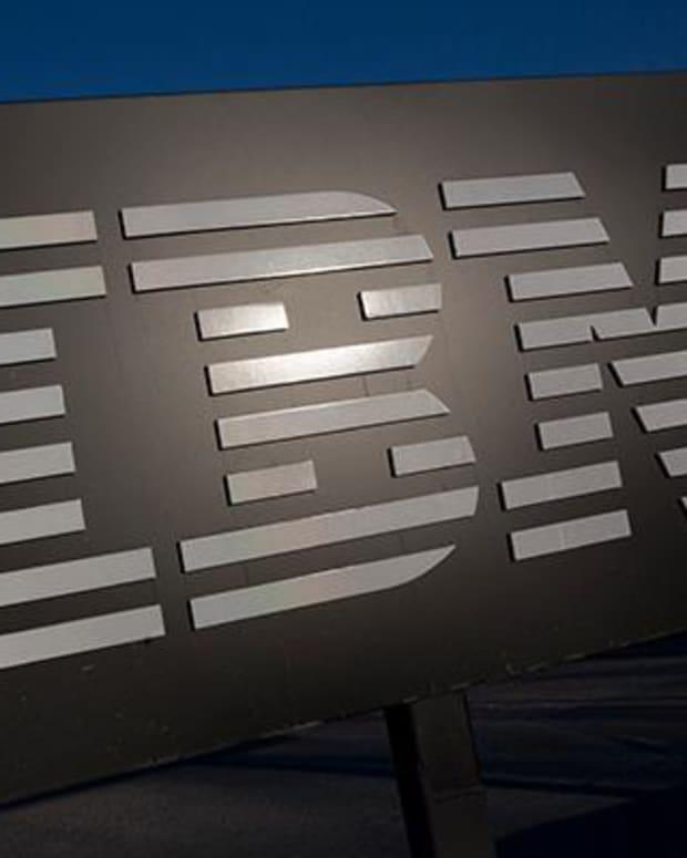 IBM moves higher