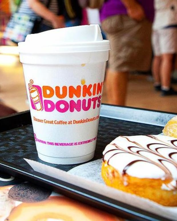 Here's What Dunkin' Donuts CEO Had to Say About Doughnut Eating in America