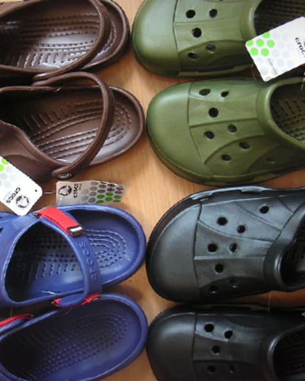Why Crocs Stock Is Lower Today