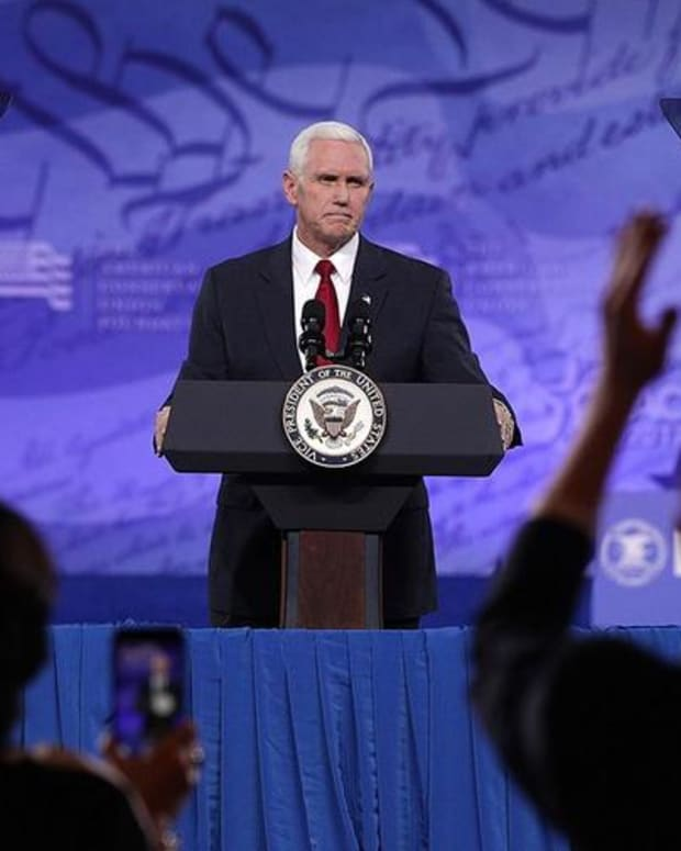 Vice President Pence Reiterates Campaign Promises On CPAC Stage