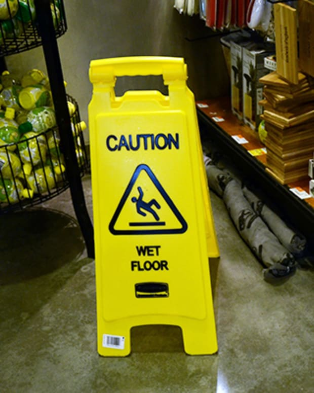 Caution indeed!