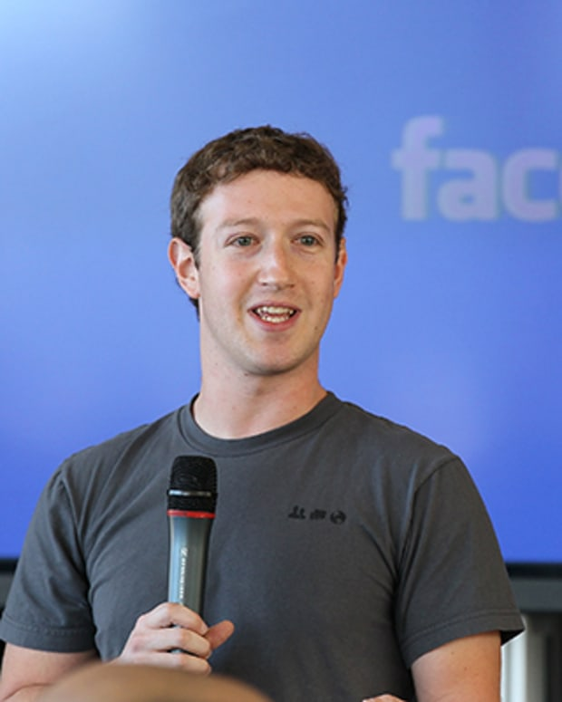 3. Mark Zuckerberg and Priscilla Chan
