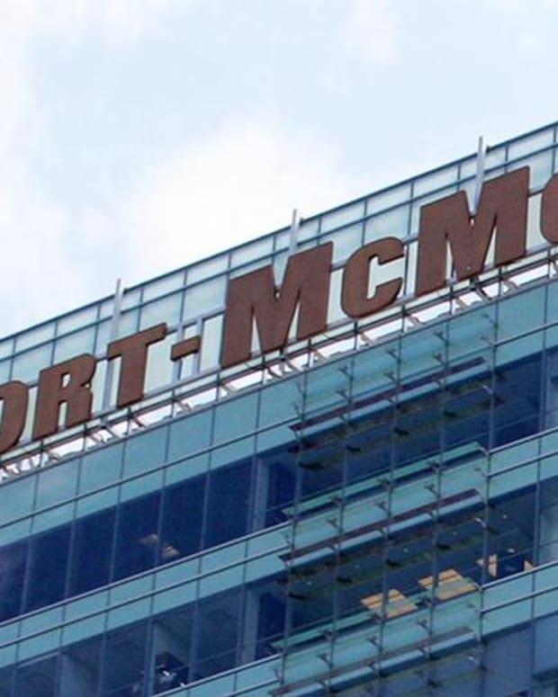 Jim Cramer on Freeport-McMoRan: Copper Is Exploding