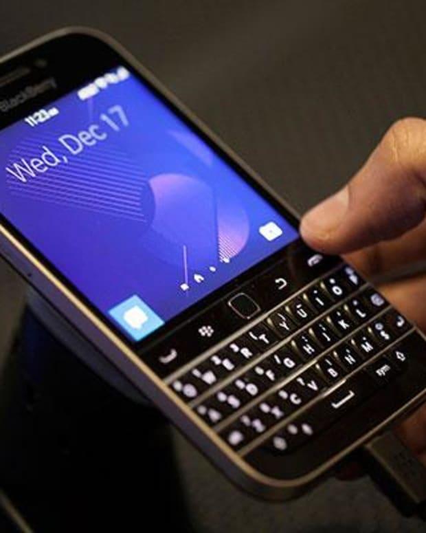 6. BlackBerry's Demise