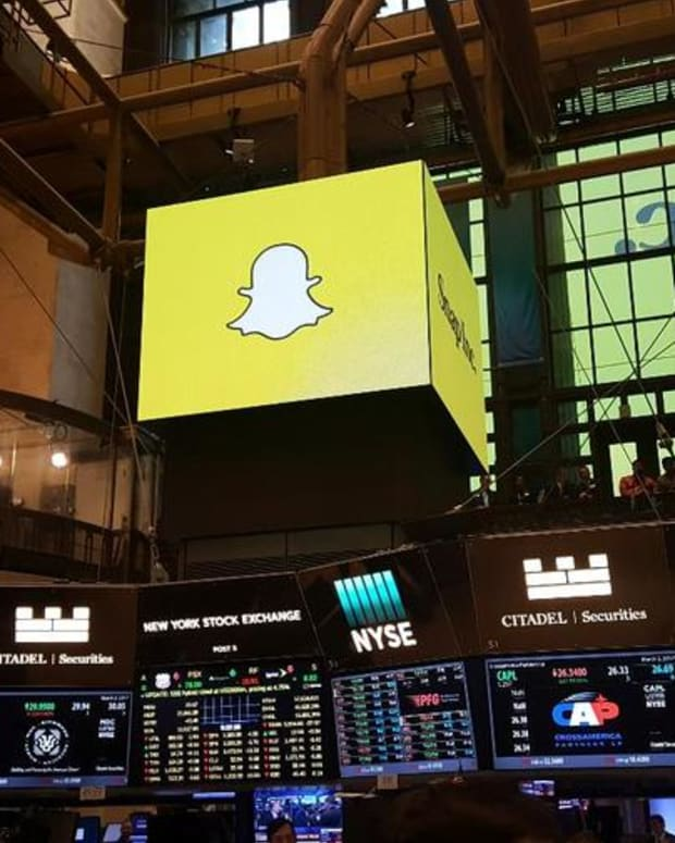 Jim Cramer on Snap's Ad Revenue