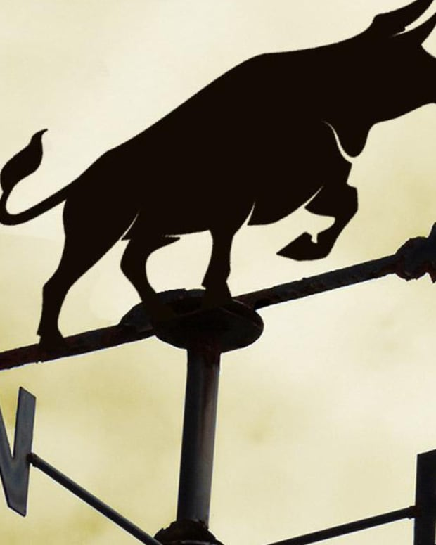 weather vane bull