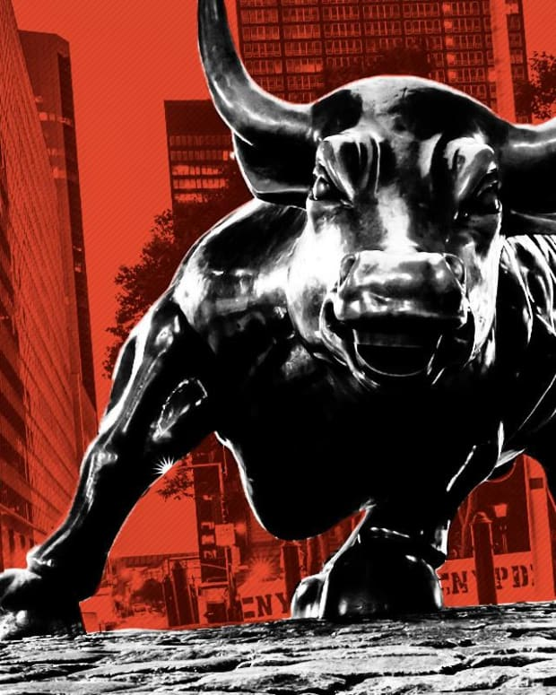 NYSE Stock Market Wall Street Bull