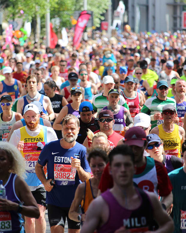 15 marathon london Alan Kean : Shutterstock.